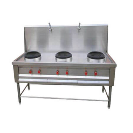 3 Bay Chinese with Water Provision