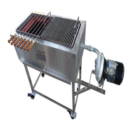 Barbeque with Blower