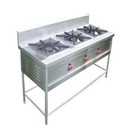 Chinese 3 Bay Burner