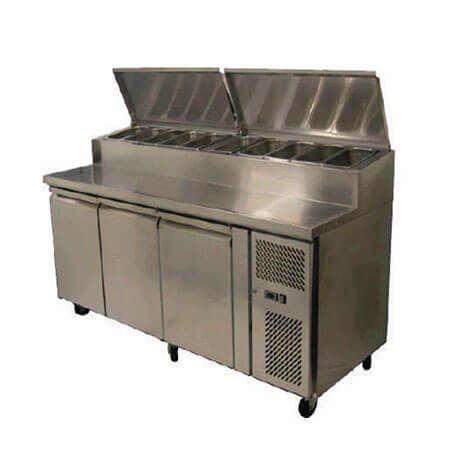 Pizza Preparation Counter with Chiller