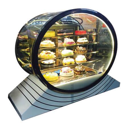 Round Glass Display 1