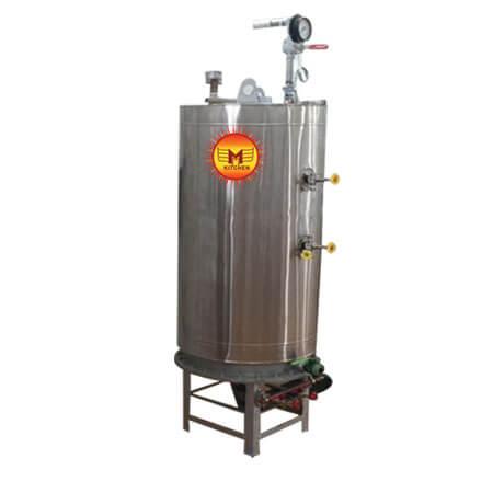 SS Round Steam Boiler