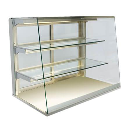 Straight Table Top Glass Display
